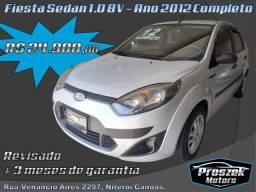 Ford Fiesta Sedan 1.0 8V - Ano 2012 Completo