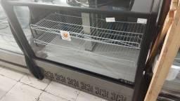 Balcão expositor confeitaria Frio , bolos e tortas 1,25 metro , refrigerado- Polar