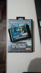 Cartucho The Secret of Shinobi - Mega Drive