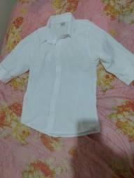 Título do anúncio: Blusa social branca manga 3/4 nova ( aceito pix)