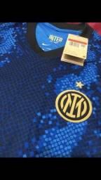 Título do anúncio: Camisa inter de Milão 21/22 (version player)