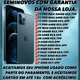 SUPER PROMOÇÃO DE IPHONE SEMINOVOS, SOMOS LOJA.