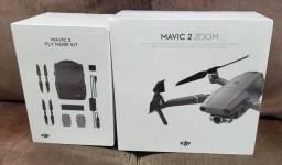 Título do anúncio: DRONE DJI MAVIC 2 ZOOM + KIT FLY MORE LACRADOS À PRONTA ENTREGA COM ANATEL