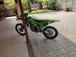 Kxf450 moto praticamente sem uso