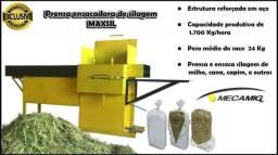 Empacotadora hidraulica de silagem milho cana capim