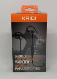 Fone de Ouvido Bluetooth Sports Original Kaidi Kd904 Novo na Caixa