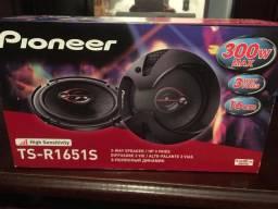 Alto falante Pioneer 6? original novo na embalagem garantia instalado