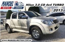 Hilux 3.0 CD 4x4 Turbo - 2013 - Prata - 2013