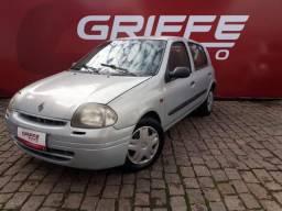 RENAULT CLIO 1.0 RN 2001 carro de repasse  - 2001