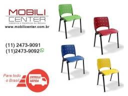 Título do anúncio: Cadeiras Modelo Isoflex - Disponível em Várias cores
