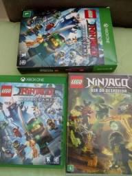 Lego Ninjago - jogo mais filme Xbox one