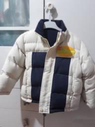 Jaqueta com capuz forrada Tam.3