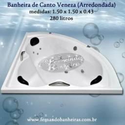 Banheiras de Canto Hidromassagem Veneza Promoção