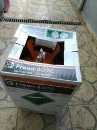 Gás refrigerante freon (R-407C)