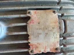 Motor Weg 10 CV Monofásico baixa rotação tudo Ok só trabalhar