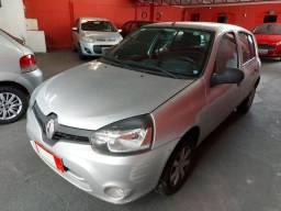 Renault Clio Expression Completo 1.0 Flex 4 Portas Prata 2012/13