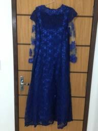 Vendo vestido de renda com brilho