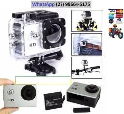 Camera tipo go pro, GoPro para carro, moto, bicicleta, capacete
