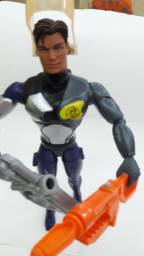 Boneco Max Steel - Armadura Tóxica - Mattel - Usado Ótimo