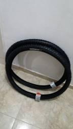 par de pneus levorin aro 26 novos