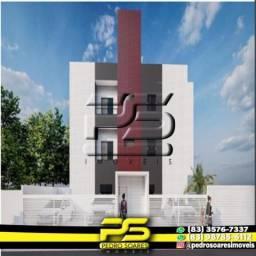 Apartamento com 2 dormitórios à venda, 52 m² por R$ 150.000 - Ernesto Geisel - João Pessoa