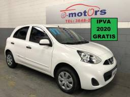 Nissan March 1.0 s Completo Flex - 2017