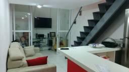 Lindo Loft 1 quarto com área de lazer do prédio (Centro) - Semi mobiliado
