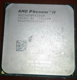 Processador amd phenon II 560 x2 3.3ghz 6mb cache Socket AM2+/AM3