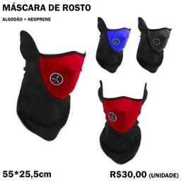 Máscara de Rosto de Pescoço para Motoqueiro