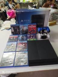 Playstation 4 R$1500,00 muito bom muito novo sem nenhum defeito