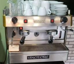 Maquina de cafe expresso profissional Futurete + Moinho Rancilio
