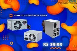 Fonte ATX 200w/400w usada