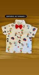 Camisa temática infantil circo P