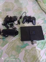 Vendo Vídeo Game Play 2 com 2 Controle $170