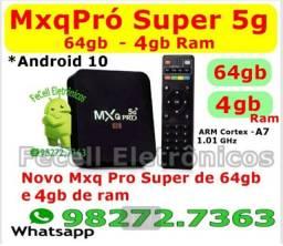TvBox Smart MXQPro 4k 4gb/64gb Android