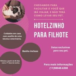 Hotelzinho para filhote