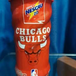 Lata nescau chicago Bulls lacrada em perfeito estado