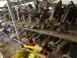 Lote máquinas de costura antiga