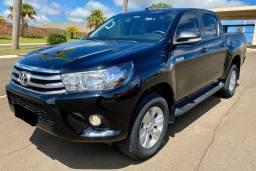 Toyota Hilux SR 2.7 Flex 4x2 Automática - Apenas 49 mil km - Leiam