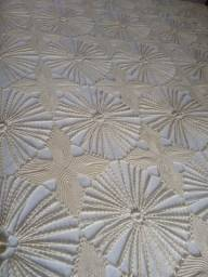 Colcha de Crochet artesanal