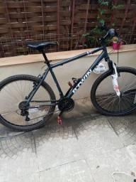 Bicicleta MTB B Twin Rockrider Shimano 21V
