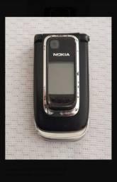 Celular Nokia 6131 de Flipe - entrego e passo cartão