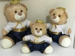 Trio de ursos de Pelúcia