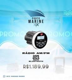 Rádio am/fm na promoção