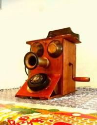 Réplica artística de antigo Telefone  / Decoração vintage