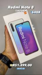Redmi Note 8 64GB Preto Lacrado