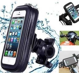 Suporte de Celular para Moto e bicicleta aprova D'água
