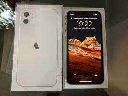Apple Iphone 11 64gb Branco Na Garantia 2 meses de Uso