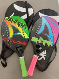 Kit Beach tênis completo , esporte, lazer, diversão .