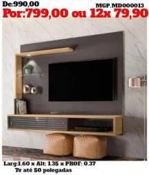 Moveis para Sala de Estar- TV - Painel de televisão até 50 Plg-Painel Grande